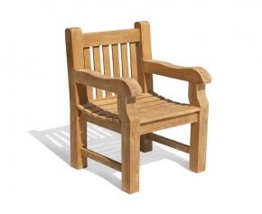 Balmoral Teak Garden Armchair - Balmoral Chairs