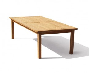 Balmoral Teak Rectangular Outdoor Table -2.5m - 10 Seater Dining Tables