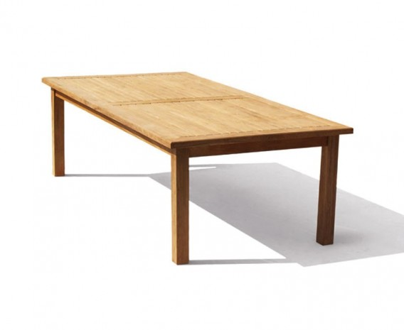 Balmoral Teak Rectangular Outdoor Table -2.5m