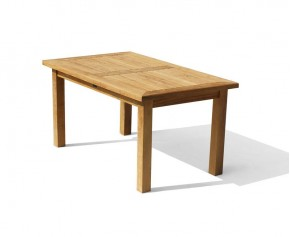 Balmoral 5ft Teak Outdoor Oblong Dining Table - Balmoral Tables