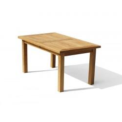Balmoral 5ft Teak Outdoor Oblong Dining Table