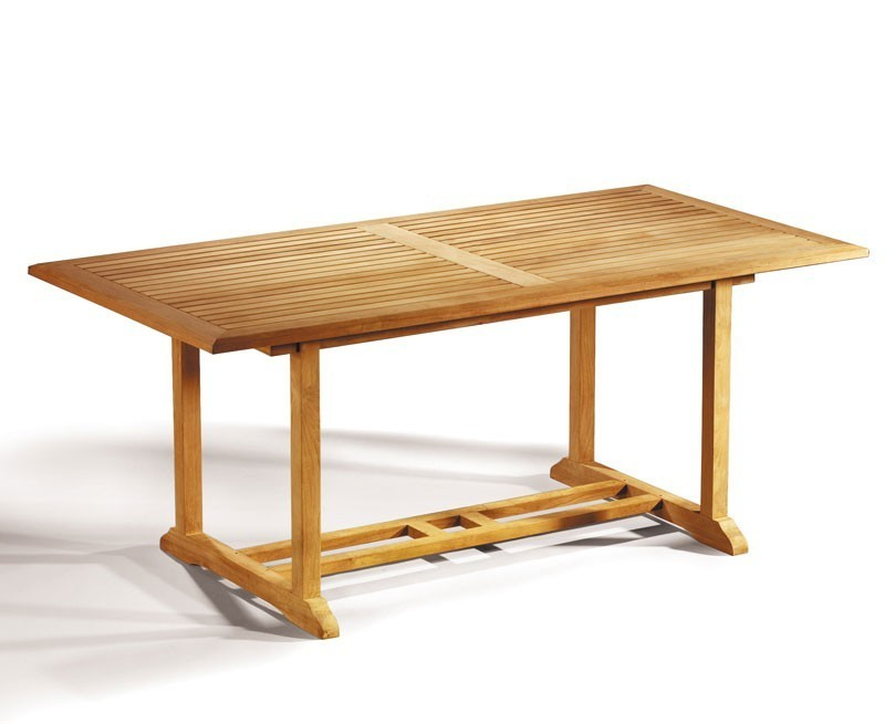 Hilgrove 6 seater garden rectangular dining table and chairs set 2 - Rectangular dining table for 6 ...