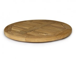 Teak 60cm Lazy Susan - Garden Accessories