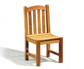 Clivedon Teak Garden Chair - Dining Chairs