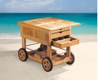 Drinks Trolley, Classic Teak