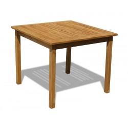 Sandringham Square Teak Outdoor 3ft Table