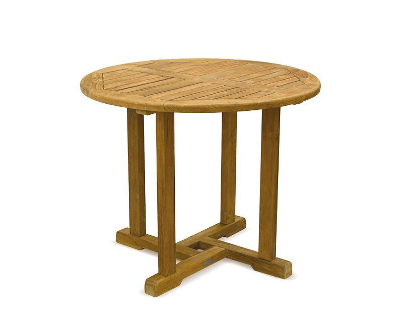 Round Wooden Kitchen Tables Uk: Circular Dining Table In Solid Oak ...