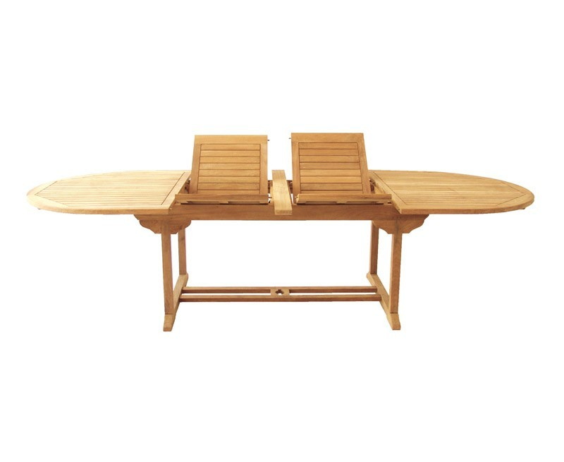 Bali teak 10 seater extending dining table and reclining chairs set - Reclining dining room chairs ...