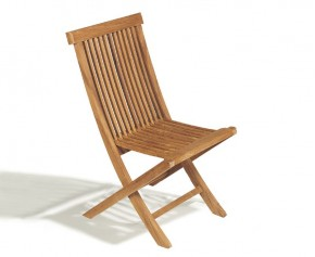 Ashdown Childrens Teak Folding Garden Chair - Patio Chairs
