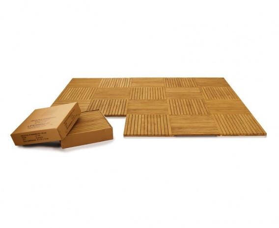 Teak Flooring Tiles Standard