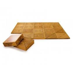 Teak Decking Tiles - Patterned