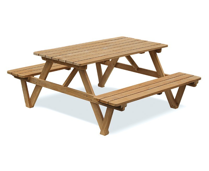 5ft Teak Picnic Bench Teak Picnic Table