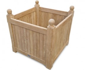 Teak Grand Versailles Planter - 80cm