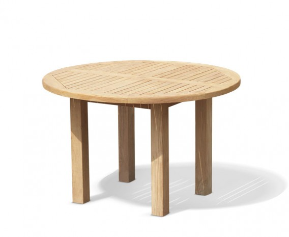 Titan Round Chunky Garden Table - 120cm