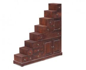 Teak Step Cabinet - Teak Wood