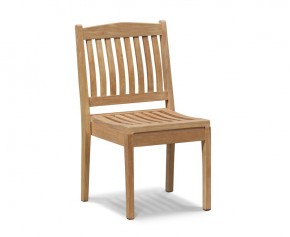 Hilgrove Teak Stacking Garden Chair - Dining Chairs