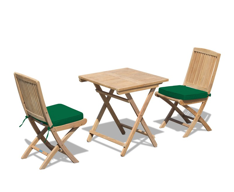 Rimini patio garden folding table and chairs set for Outdoor table set