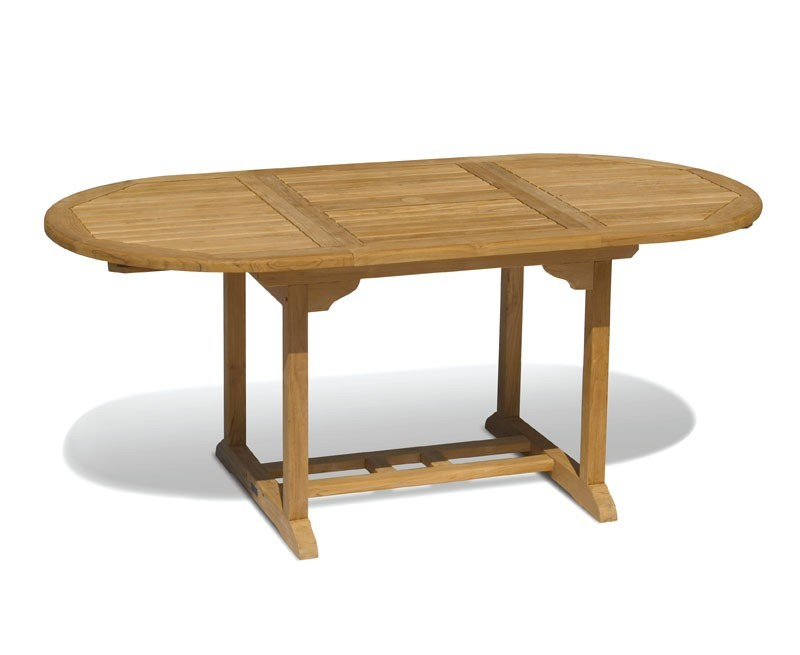 teak extendable outdoor dining table 120cm 180cm all garden tables