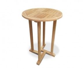 Canfield Teak Outdoor Bar Table - 70cm - Round Tables
