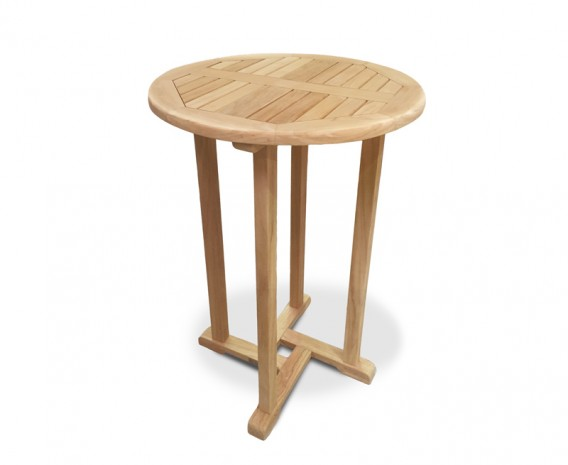 Canfield Teak Outdoor Bar Table - 70cm