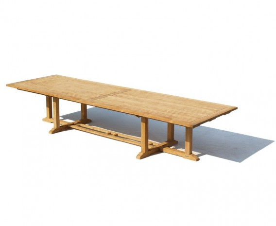 Hilgrove Teak Extra Large Rectangular Table - 4m