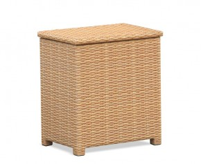 Tango Rattan Garden Storage Box - Garden Accessories