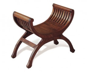 Teak Regency Stool - Garden Accessories