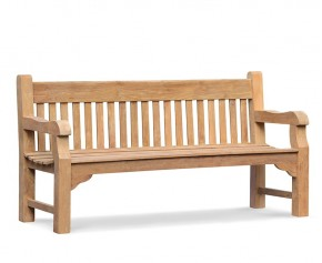 Banchory Teak Garden Bench – 1.8m