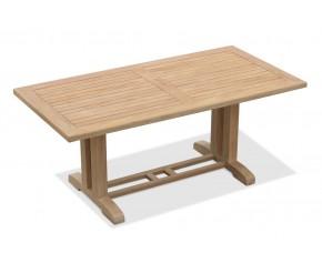 Cadogan Rectangular Teak Garden Table – 1.8m