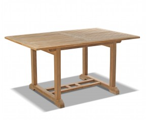 Hilgrove Teak 5ft Rectangular Outdoor Table - 6 Seater Dining Tables