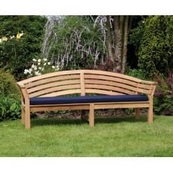 Salisbury Teak Outdoor Wooden Bench - 1.95m