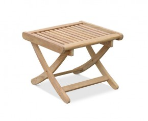 Bali Rimini Teak Side Table | Outdoor Footstool