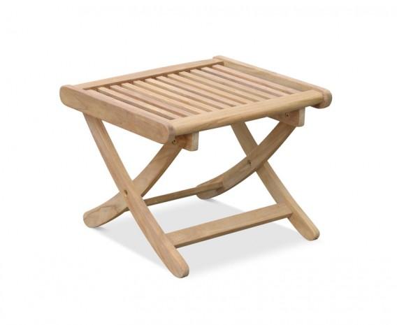 Bali Rimini Teak Side Table | Outdoor Footstool