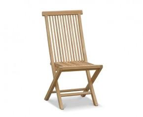 Ashdown Teak Folding Garden Chair