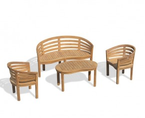 Kensington Outdoor Coffee Table Set