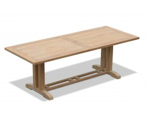 Cadogan Large Teak Garden Table, Rectangular – 2.25m