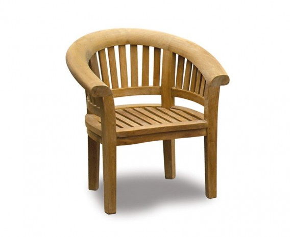 Deluxe Teak Banana Chair