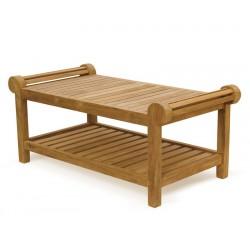 Lutyens Coffee Table, Teak Wood