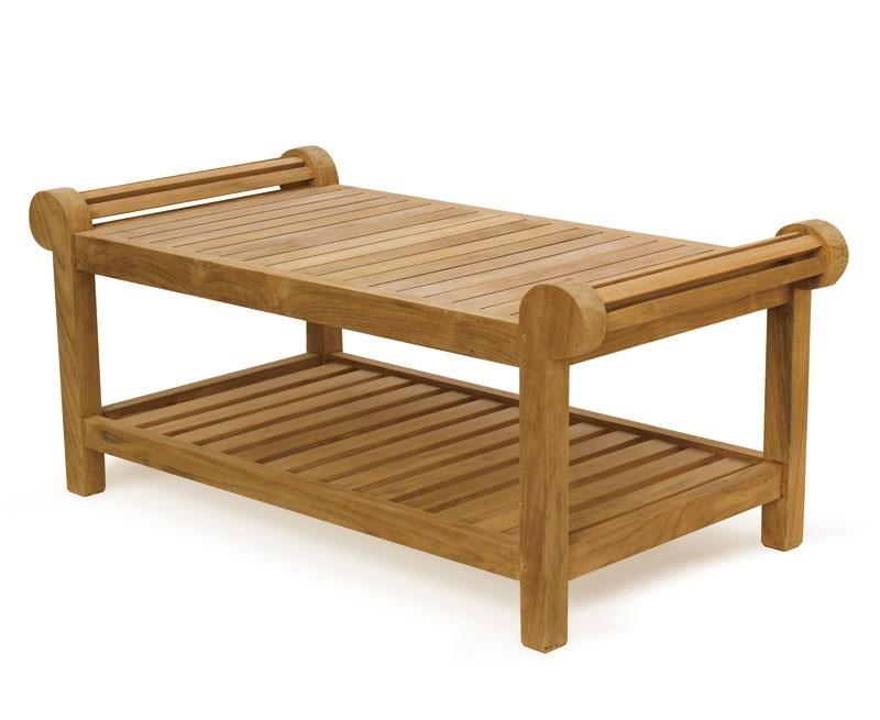 Teak Wood Lutyens Coffee Table