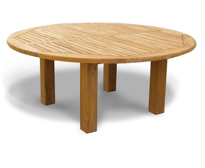 Titan NEW Teak Garden Circular Dining Table