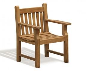 Taverners Teak Garden Armchair - Taverner Chairs