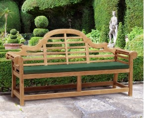 Lutyens Garden Bench 1.95m - 7ft Benches