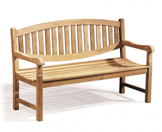 Ascot Teak 3 Seater Garden Bench