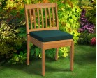 Teak Dining Set with Sandringham 6 Seater Table & Hilgrove Stacking Chairs