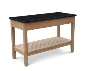 Aria Garden Console Table with Drawers, Outdoor Sideboard
