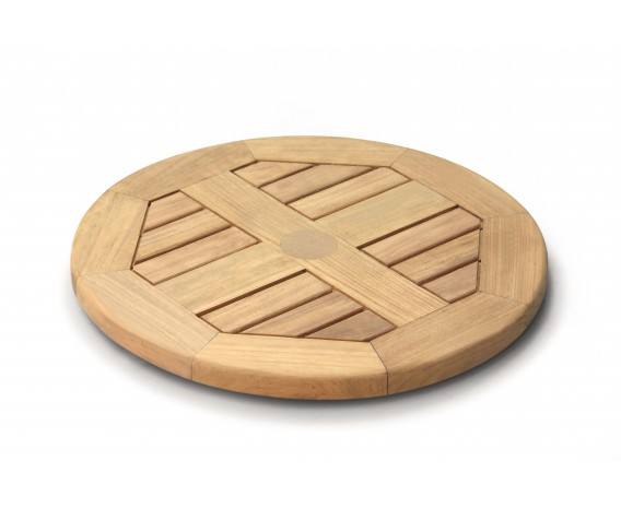 Small Teak Lazy Susan – 0.5m