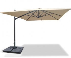 Umbra® Rectangular Cantilever Parasol – 3 x 4m