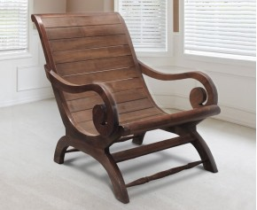 Capri Teak Plantation Chair, Reclaimed Teak