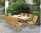 Shelley Garden Gateleg Table and Chairs (Set 3) | Gateleg Table And Rimini Chairs