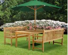 Sandringham Benches and Table Set.